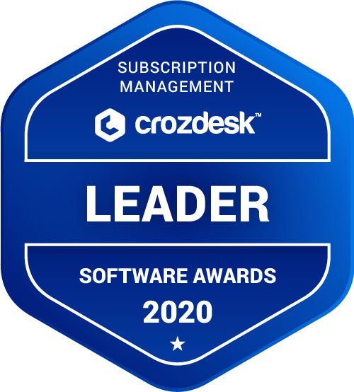 Rev.io Subscription Management Software Award 2020