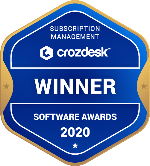 Subscription Management Winner Badge