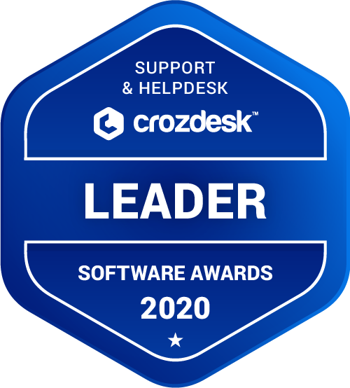 Help Scout Support & Helpdesk Software Award 2020