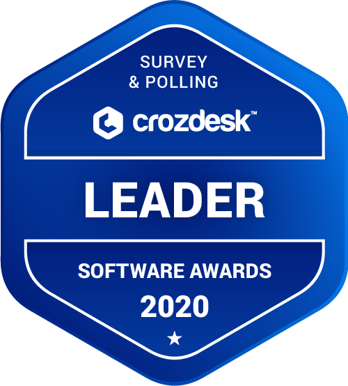 QuestionPro Survey & Polling Software Award 2020