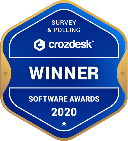 Survio Survey & Polling Software Award 2020