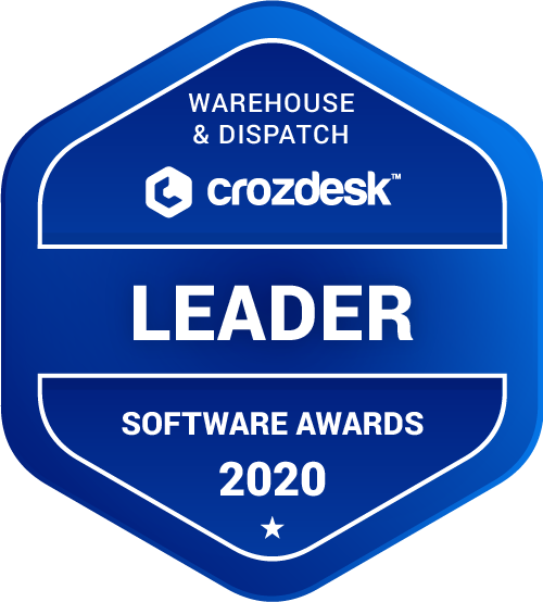 TradeGecko Warehouse & Dispatch Software Award 2020