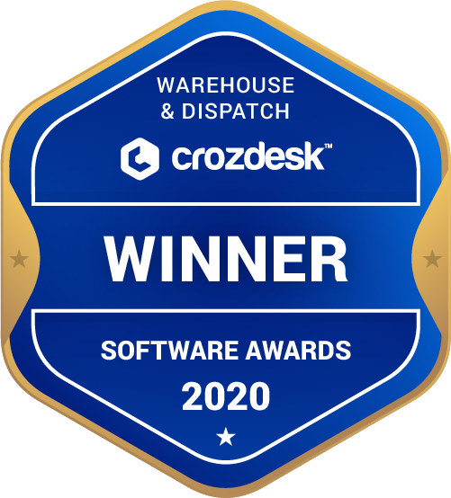 Warehouse & Dispatch Winner Badge