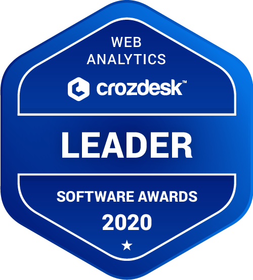 Crazy Egg Web Analytics Software Award 2020