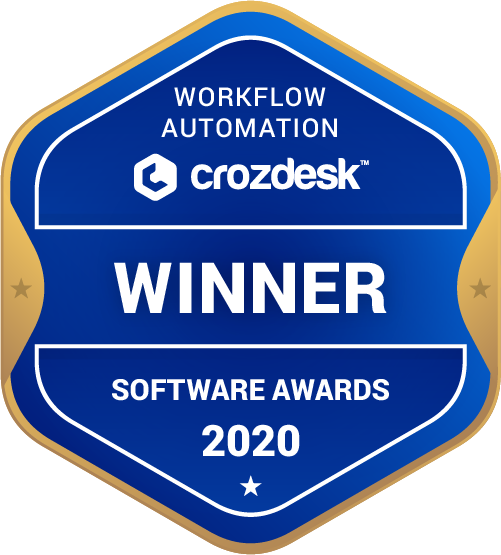 Workflow Automation Winner Badge