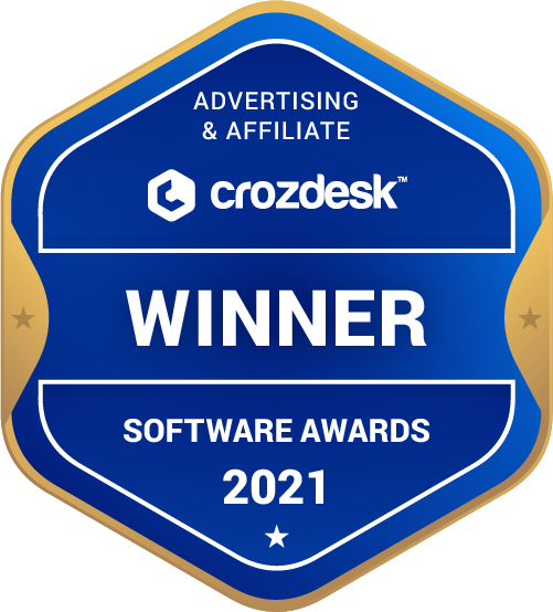 Advertising & Affiliate Winner Badge