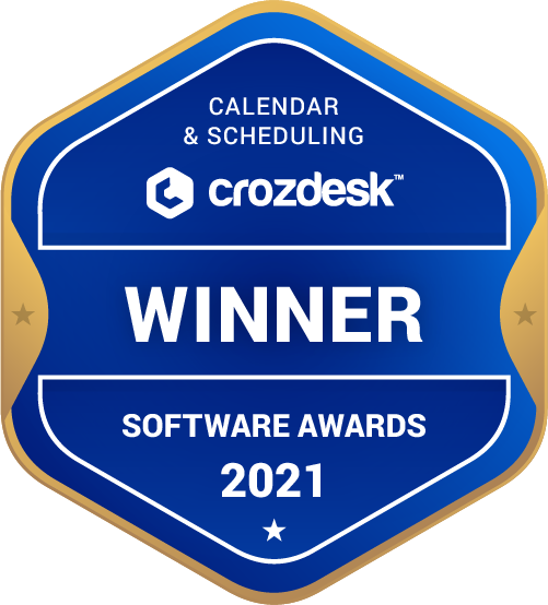 Calendar & Scheduling Winner Badge