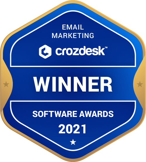 Email Marketing Winner Badge