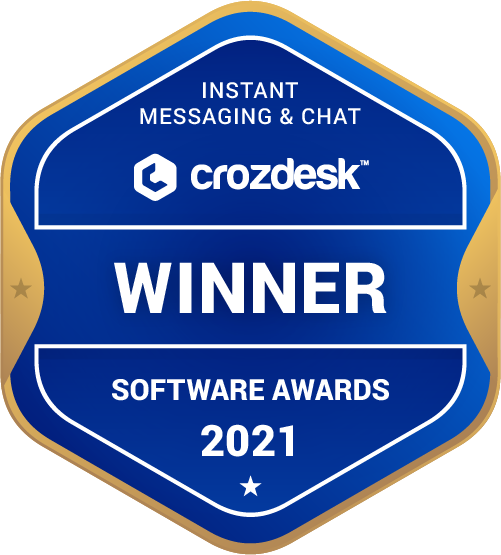 Instant Messaging & Chat Winner Badge