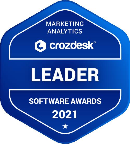 Marketing Analytics Software Award 2021 Leader Badge