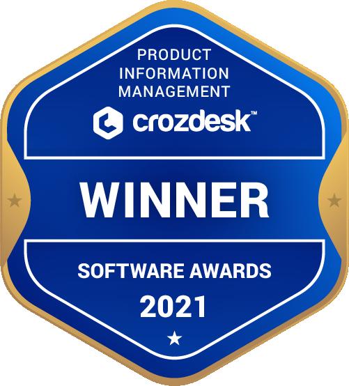 Product Information Management (PIM) Software Award 2021 Winner Badge