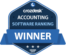 Accounting Winner Badge