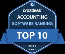 Accounting Top 10 Badge