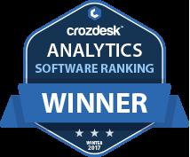 Analytics Winner Badge