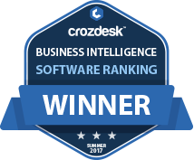 Business Intelligence (BI) Winner Badge