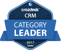 Crozdesk CRM Category Leader
