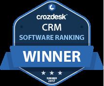 CRM Winner Badge