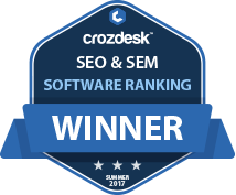 SEO & SEM Winner Badge