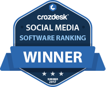 Social Media Winner Badge